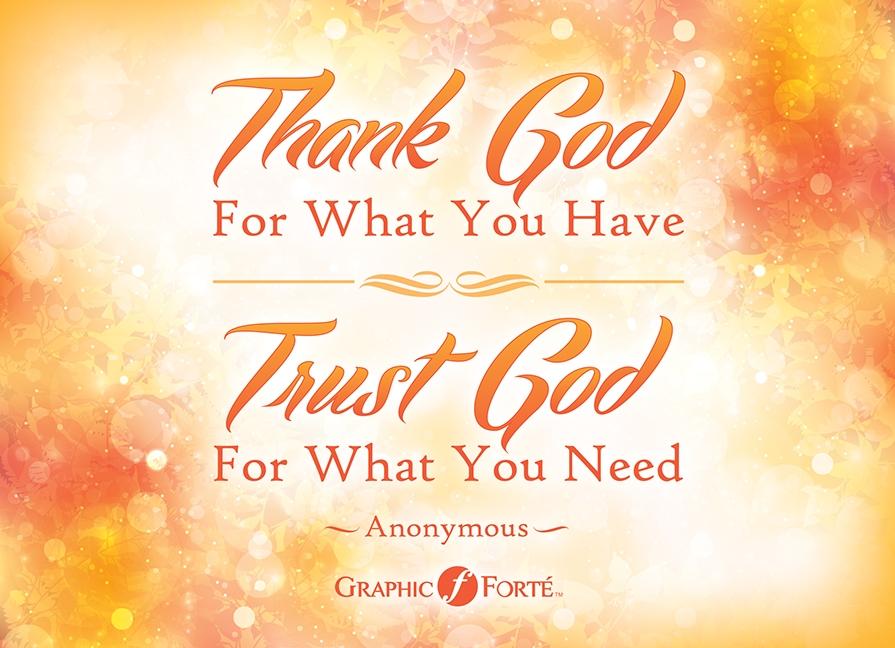 Thank God Uniting Caregivers