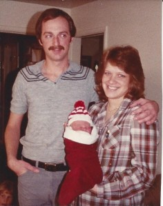 December 25, 1985 Christopher 3 days old