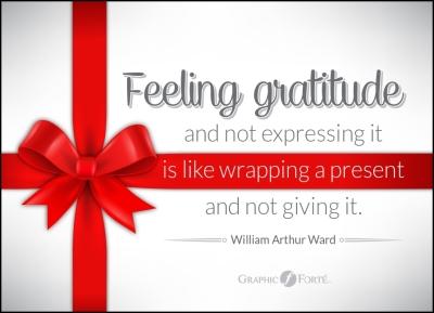 Feeling Gratitude - Dec.