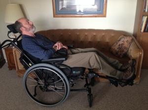Mark Recline wheelchair