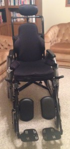 New Wheelchair-front