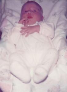 Katie 4 days old