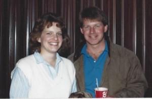 Steve and I 1978
