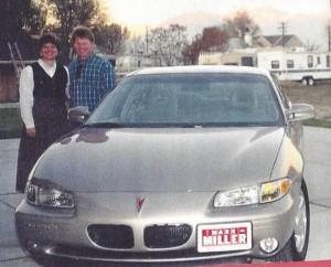 Steve & I with car