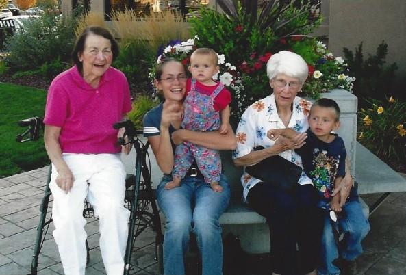 both grandmas