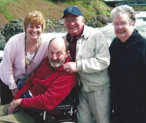 Mom, Dad, Mark & I