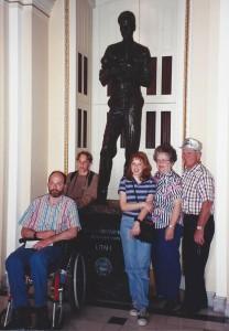 Utahs statue of Philo Farnsworth, T.V. inventor—born in Utah