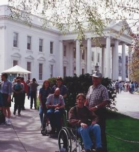 White House entrance