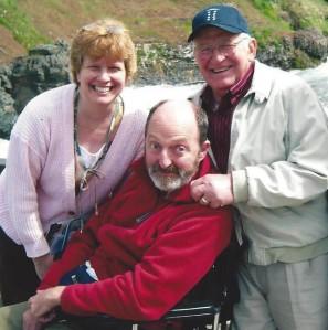 Dad, Mark & I