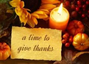 give thanks-candle