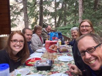 Mark's family celebration