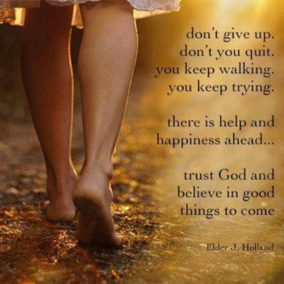 Feb- Don't give up