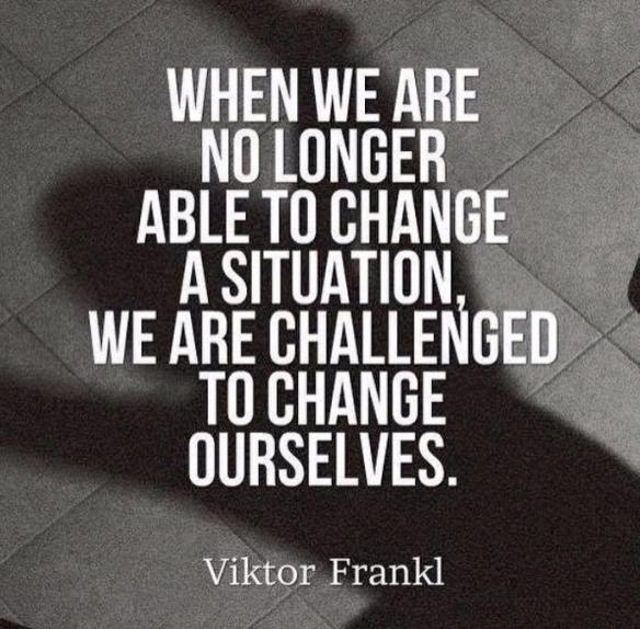 Challenged to Change Ourselves