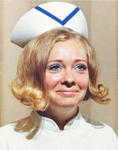 Nurse Susan Ferguson, 1972
