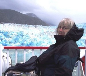 Judith at glacier (3)