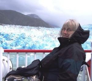 Judith at glacier (3)