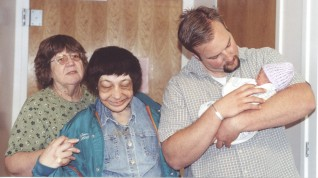 Mom, Laura, Eric and baby Dallin