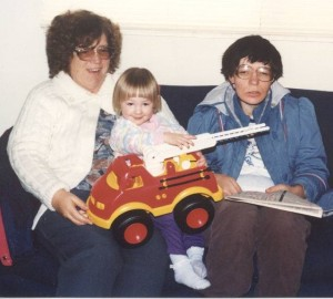 Mom, Laura & Jessica