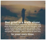 Grief Alone