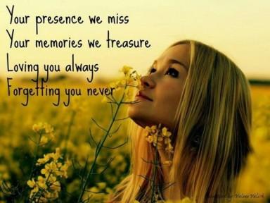 Grief Remember Always