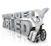 Uniquely abled